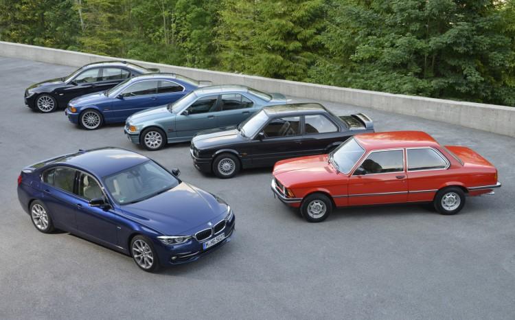 BMW 3 series history 40 years 193