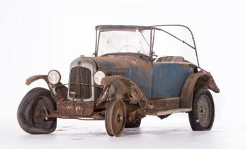 stav historického vozidla
