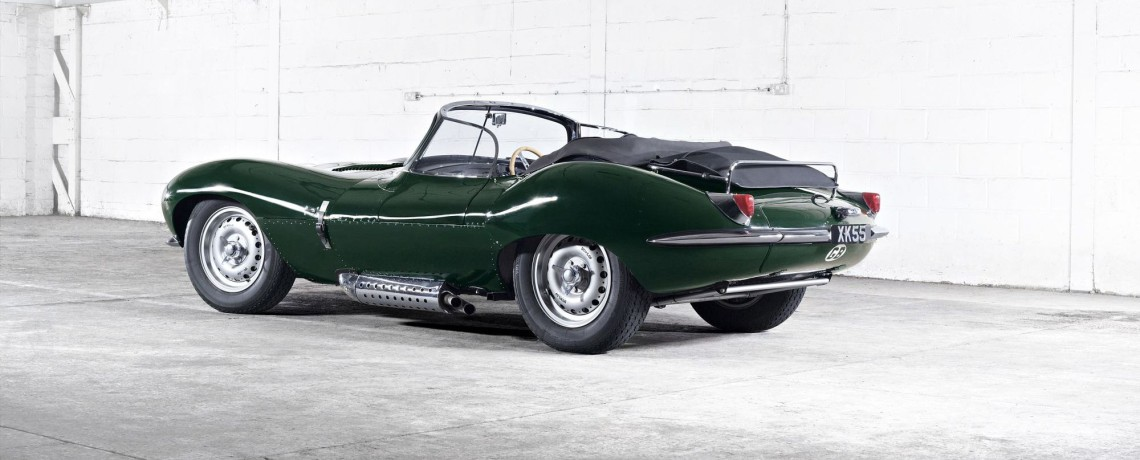 Jaguar XKSS 2 rear