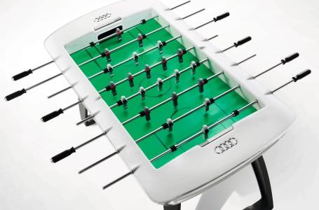 soccer table audi