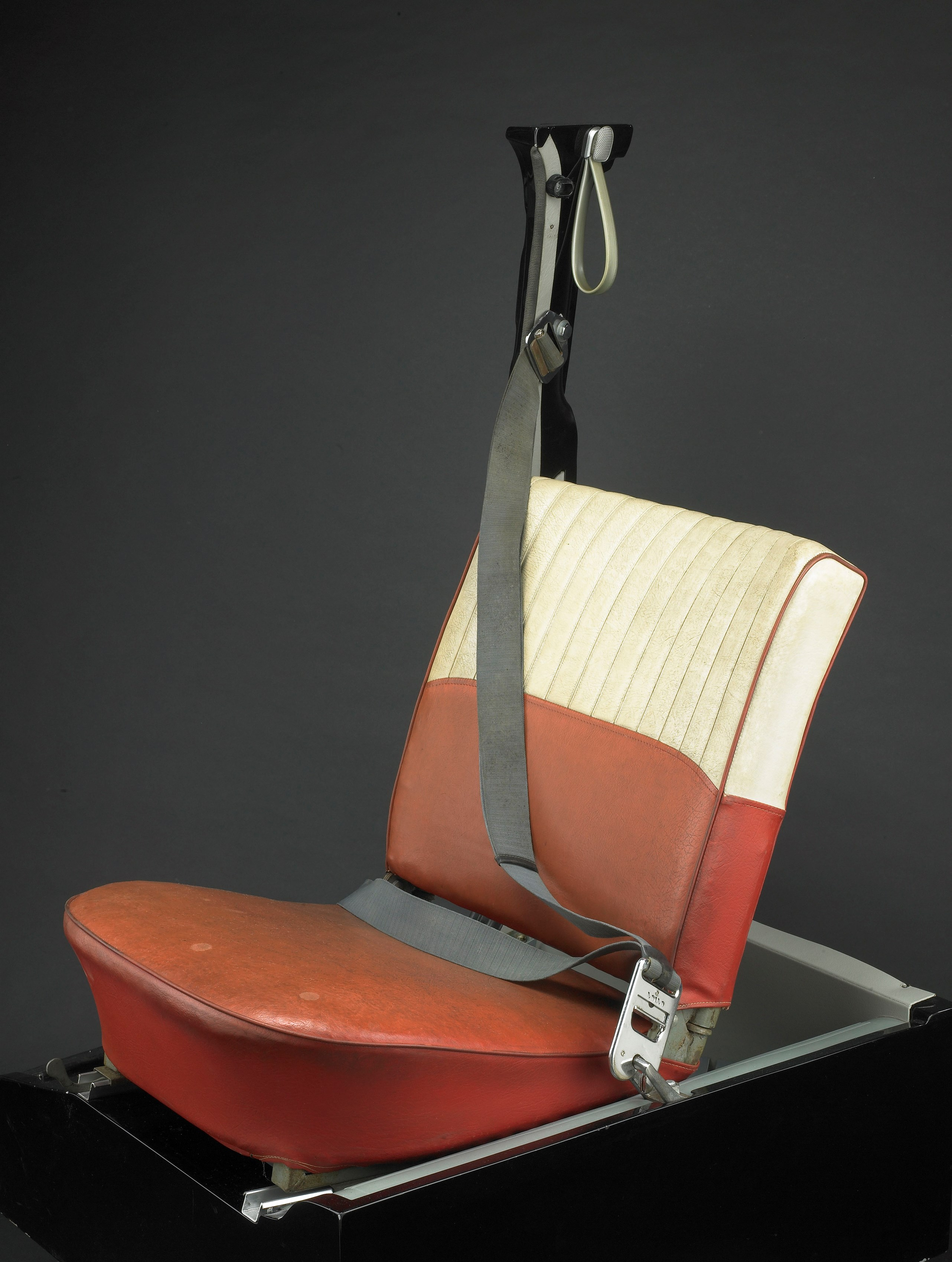 Volvo's three-point safety belt at the Smithsonian National Museum of American History