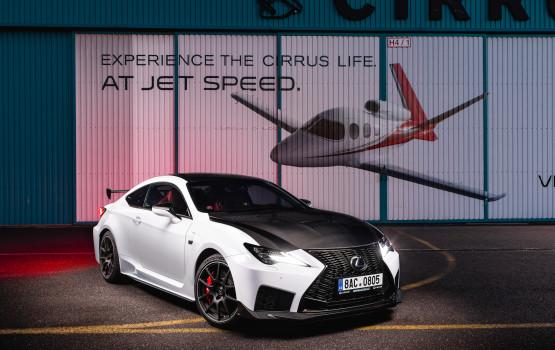 Lexus RCF Cirrus