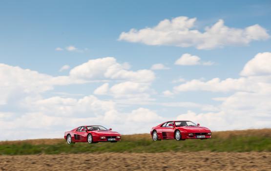 Ferrari 348 vs 512TR